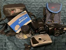 Vintage Chinon Camera Genesis III + Auto 4001 Lowepro Case + Panoramic Camera
