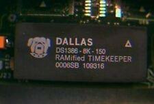 DALLAS DS1386-8K-150 DIP-32 Nonvolatile Static RAM with a