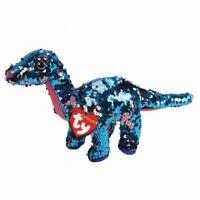 Tremore The Flippable Lustrini Dinosauro Giocattolo, Ty Collezione 22.9cm (23cm)