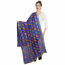 Scarf Indian Dupatta ForBlue Long Scarf Shawl Traditional Womens Scarves