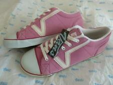 NWT VANS Women 11 Pink Nubuck/Suede? Old Skool Lace Up Sneakers Shoes White Logo