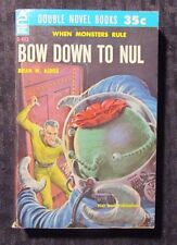 1960 The Dark Destroyers / Bow Down To Nul ACE Double D-443 Paperback FN+