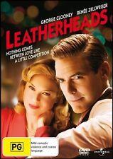 LEATHERHEADS (George CLOONEY Renee ZELLWEGER) Romantic Comedy Film DVD NEW SEALD
