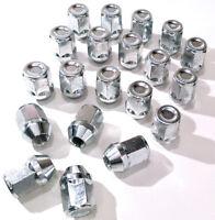 alloy wheel nuts bolts lugs. M12 x 1.25 - M12x1.25, 21mm Hex, Taper Set of 20