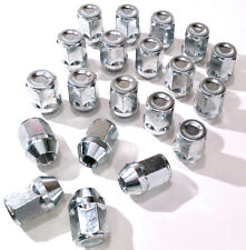 20 x lega ruota dadi bulloni ALETTE. M12 x 1,25 - M12x1.25, 21mm esagonale, rastremazione. NISSAN