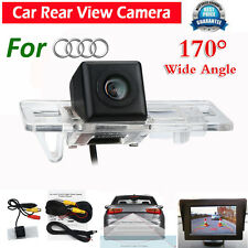 170º CMOS Waterproof Car Rear View Back Up Reverse Camera for Audi A4 A6L Q7 S5