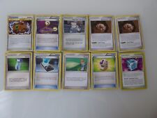 10 Pokemon Trainer Cards - Common - Uncommon - English - Mixed Lot