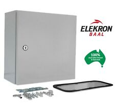 Electrical Steel Enclosure Box Cabinet Switchboard 400(H)x300(W)x200(D) IP66