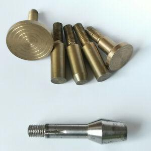 Lathe 6mm Shellac chuck type Lorch et Schmidt - Watchmaker tool - tour horloger