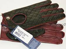 TOMMY HILFIGER COLLECTION MEN'S ITALIAN LEATHER DRIVING GLOVES - SIZE L