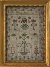 Antique Miniature Sampler, 1795, By Mary Milligain