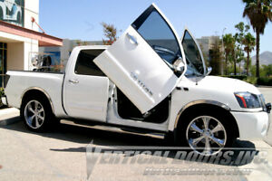 Vertical Doors - Vertical Lambo Door Kit For Nissan Titan 2003-15 -VDCNTITAN0507