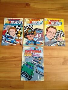 Legends Of Nascar # 1-3 , Daytona Special # 1