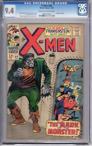 The X-Men #40 (Jan 1968, Marvel) CG 9.4