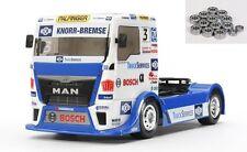 Tamiya 1:14 RC Team Hahn Racing Man tgs tt-01e incl. rodamientos de bolas - 300058632ku