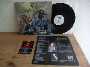Eliminator - Breakin the Wheel ( Rare Thrash Metal LP,Kreator ) Mint- 500 Copies