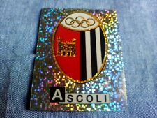 Figurina Album Calciatori Panini 1991/92 N°1 SCUDETTO BADGE ASCOLI Soccer new