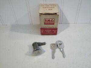 NOS 1961 FORD GALAXIE, FAIRLANE, STARLINER LH DOOR LOCK W/KEYS, C1AB-6221985-A