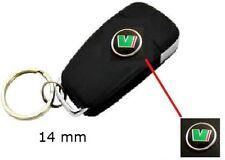 SKODA VRS Octavia Schlüssel Logo Emblem Fernbedienung Aufkleber Key 14 mm *NEU*