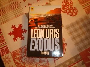 buch roman leon uris exodus