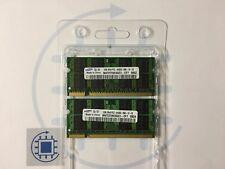 4GB (2x 2GB ) DDR2 PC2 6400S 666 800MHz Arbeitsspeicher Samsung Laptop RAM