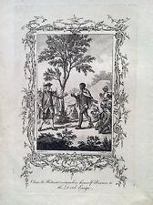Hottentotten Si aufgeben Gefangen Holländisch Africa 1773 collection of Reisen
