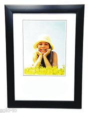 "6 x  Picture Photo 8"" x 10""  Frame Frames BLACK  Wholesale Bulk New"