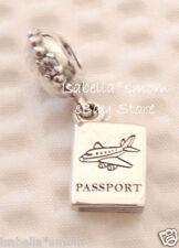 Authentic PANDORA Adventure Awaits PASSPORT Dangle Charm 791147CZ NEW w POUCH!