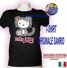 T-SHIRT HELLO KITTY LEOPARD ORIGINALE TALGLIA M DONNA