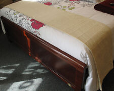 COTTON Bed Runner / Bed Cover CREAM 150x250cm NEW