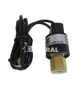 High Pressure Switches Control PS-450-500 for Refrigerant R410a  Automatic reset