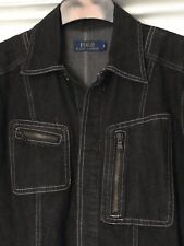 POLO RALPH LAUREN SIZE 4 DENIM SHIRT DRESS UK SIZE 10 /12 BNWOT