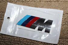 3D M Logo For BMW M-Power Badge Fender Emblem Self Adhesive Car Sticker