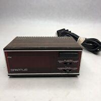 Vintage Spartus Horizon LCD Alarm Clock Model 1138 Woodgrain Snooze