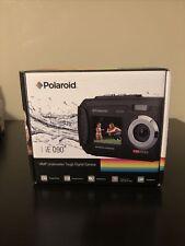 New Polaroid iE090 Dual Screen Shock & Waterproof Digital Camera Blue