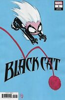 Black Cat Comic Issue 1 Limited Skottie Young Variant Modern Age First Print