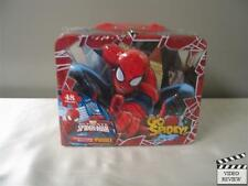 Marvel Ultimate Spiderman Puzzle Set Lunch Box NEW factory Sealed LUNCHBOX