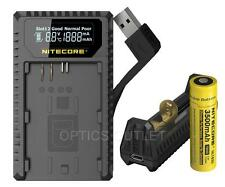 Nitecore UCN1 USB Digital Charger for Canon LP-E6 LP-E6N LP-E8 Batt w/ PowerBank