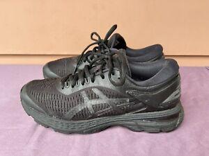 RARE Asics Gel-Kayano 25 Women US 7.5 Running Shoes Black-Black 1012A026-003 D6