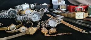 HUGE Lot: Enicar, Oris, Bentley, Seiko, Citizen, Cyma, Guess Swiss Made Watches!