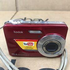 Kodak EasyShare C180 10.2MP Digital Camera w/ 2GB SD Card - Red 2.P1
