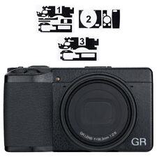 Anti-Scratch Leather Camera Body Film Cover Protector for Ricoh GR III GR3