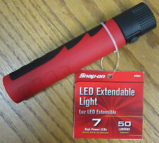 Snap-On Tools 7 LED 50 Lumen Extendable Work Light/Flashlight! 3 Hr Run Time!