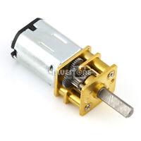DC3.7V 1000rpm Turbo Worm Speed Reduction Gear Motor 4x12mm Micro Coreless Motor