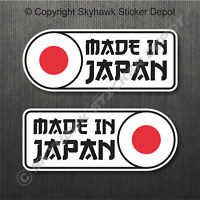 Made In Japan Flag Bumper Sticker Vinyl Decal Japanese Car JDM Sticker For Honda