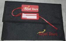 Pochette bagage voyage Royal tours neuve