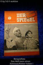 Der Spiegel 41/49 6.10.1949 Juwel Indiens, wie spät ist es? Pandit Nehru