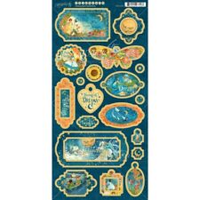 Graphic 45 Chipboard Dreamland Collection 4501933