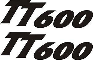 Triumph daytona tt600 vinyl stickers