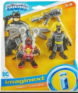 ⚡BRAND NEW imaginext DC Super Friends Firefly & Batman Fisher Price ages 3-8